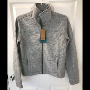 NWT PrAna Hadley heather grey jacket